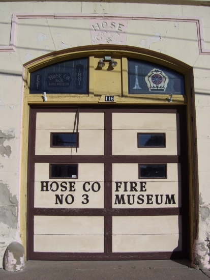 Hose Co. No 3 front door